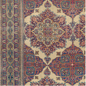 Antique Oriental Persian Kermanshah Carpet 13ft 8in x16ft 7in