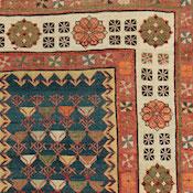 Antique Oriental Persian Caucasian Talish Rug 3ft 3in x7ft 8in