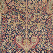 laver kirman tree of life antique carpet