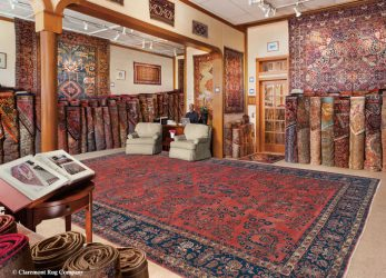 The Main Showroom at Claremont Rug Company Oakland, California