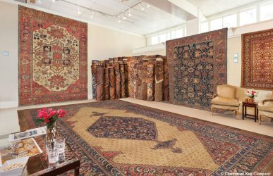 The Private Showroom at Claremont Rug Company Oakland, California